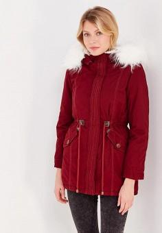 Парка, Z-Design, цвет: бордовый. Артикул: ZD002EWXYF28. Одежда / Верхняя одежда