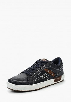 Кеды, Zenden Active, цвет: синий. Артикул: ZE008AMPRC81. Обувь / Кроссовки и кеды / Кеды