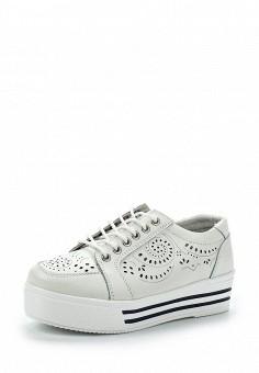 Кеды, Zenden Active, цвет: белый. Артикул: ZE008AWAEEQ2. Обувь / Кроссовки и кеды / Кеды