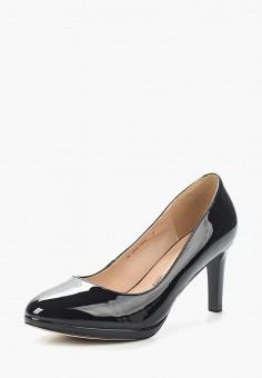 Туфли, Zenden Woman, цвет: синий. Артикул: ZE009AWAEFI8. Обувь / Туфли / Закрытые туфли