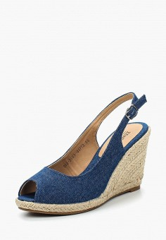 Эспадрильи, Zenden Woman, цвет: синий. Артикул: ZE009AWAEFR9. Обувь