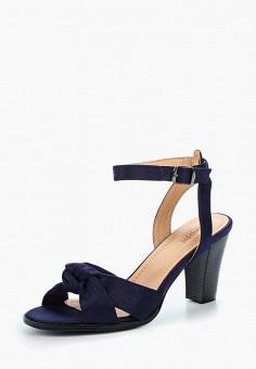 Босоножки, Zenden Woman, цвет: синий. Артикул: ZE009AWAEFT5. Обувь / Босоножки