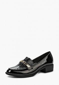 Лоферы, Zenden Woman, цвет: черный. Артикул: ZE009AWKOE04. Обувь