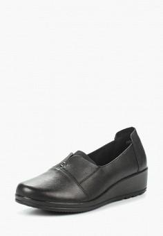 Туфли, Zenden Collection, цвет: черный. Артикул: ZE012AWAEFA1. Обувь / Туфли / Закрытые туфли