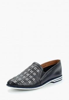 Лоферы, Zenden Collection, цвет: синий. Артикул: ZE012AWAEFB0. Обувь