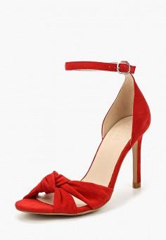 Босоножки, Zign, цвет: красный. Артикул: ZI469AWZYU51. Обувь / Босоножки