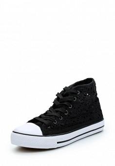 Кеды, Zona3, цвет: черный. Артикул: ZO004AWAZCA4. Обувь / Кроссовки и кеды / Кеды