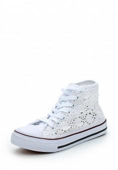 Кеды, Zona3, цвет: белый. Артикул: ZO004AWAZCA6. Обувь / Кроссовки и кеды / Кеды