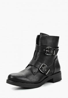 Ботинки, Zona3, цвет: черный. Артикул: ZO004AWCRJF0. Обувь