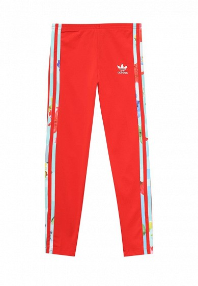 Леггинсы adidas Originals J FLWR LEGGINGS