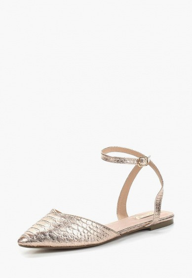 Сандалии LOST INK ELLIE POINTED ANKLE STRAP BALLERINA