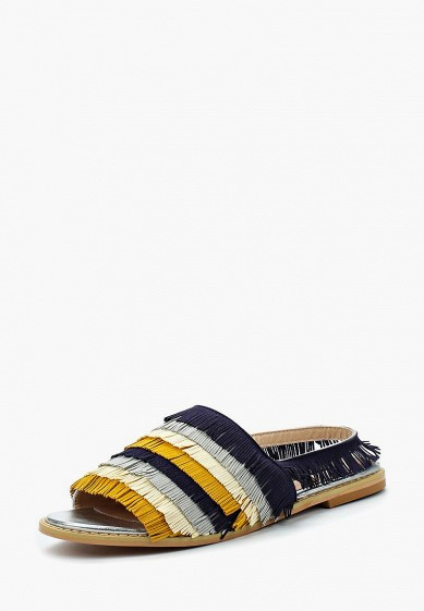Сандалии LOST INK CARMEN MULTI FRINGED FLAT SANDAL
