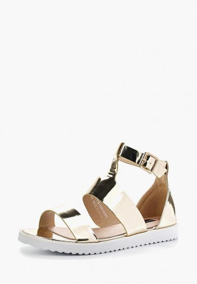 Сандалии LOST INK CELIA GOLD FLAT SANDAL