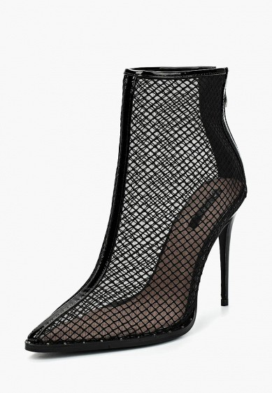 Ботильоны LOST INK NIA FISHNET STILETTO BOOT