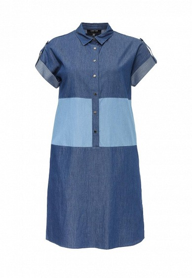 Платье LOST INK SUZY DENIM PANEL DRESS