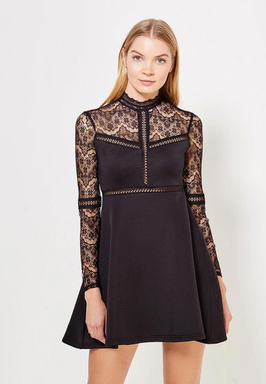 Платье LOST INK PANELLED LACE FIT AND FLARE DRESS