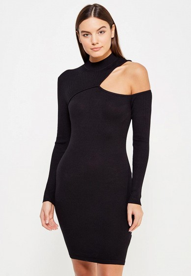 Платье LOST INK DRESS WITH RIBBED CUT OUT DETAIL