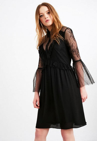 Платье LOST INK LACE PANELLED SHIRT DRESS