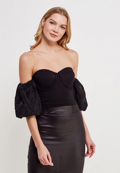 Топ LOST INK PUFF BALL SLEEVE BUSTIER