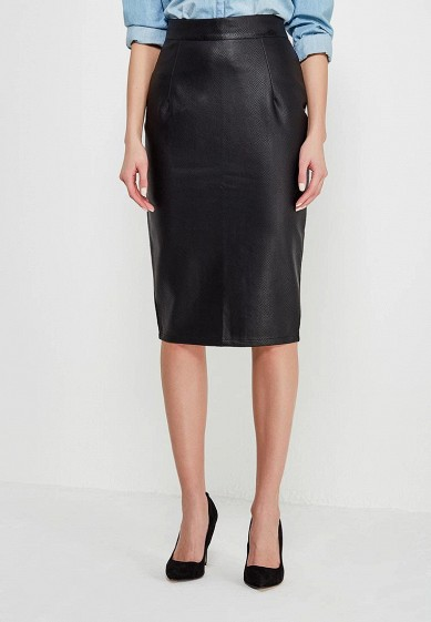 Юбка LOST INK MATT PU PENCIL SKIRT