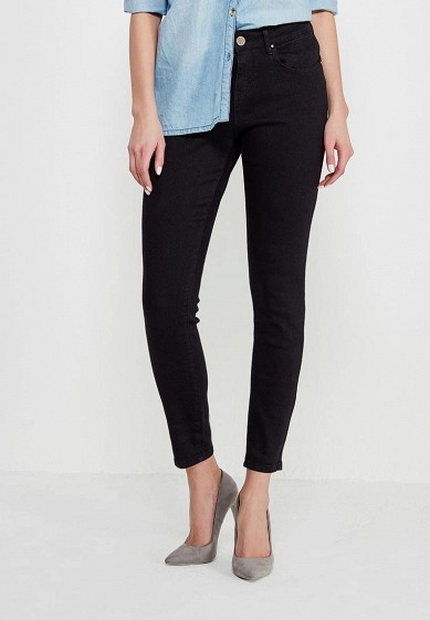 Джинсы LOST INK MID RISE SKINNY IN WASHED BLACK