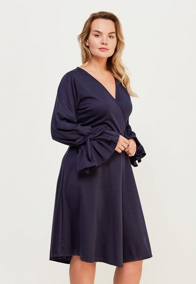 Платье LOST INK PLUS FIT & FLARE DRESS WITH PLEATED SLEEVE