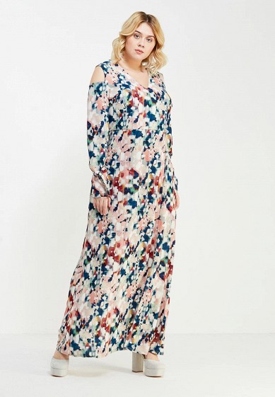 Платье LOST INK PLUS MAXI DRESS IN DREAMSTATE ABSTRACT PRINT