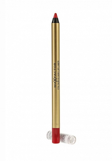Карандаш для губ Max Factor Colour Elixir Lip Liner 10 тон red rush