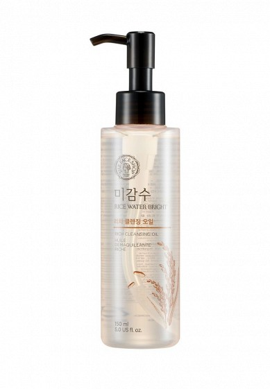 Масло для лица Thefaceshop RICE WATER BRIGHT RICH CLEANSING OIL