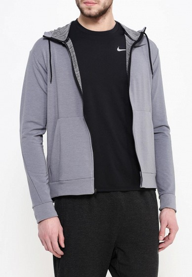 Толстовка Nike DRI-FIT TRAINING FLEECE FZ HDY