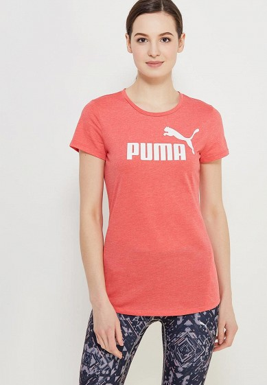 Футболка спортивная PUMA ESS No.1 Tee Heather W