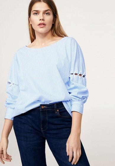 Блуза Violeta by Mango - CRUCES за 3 999 руб. в интернет-магазине Lamoda.ru