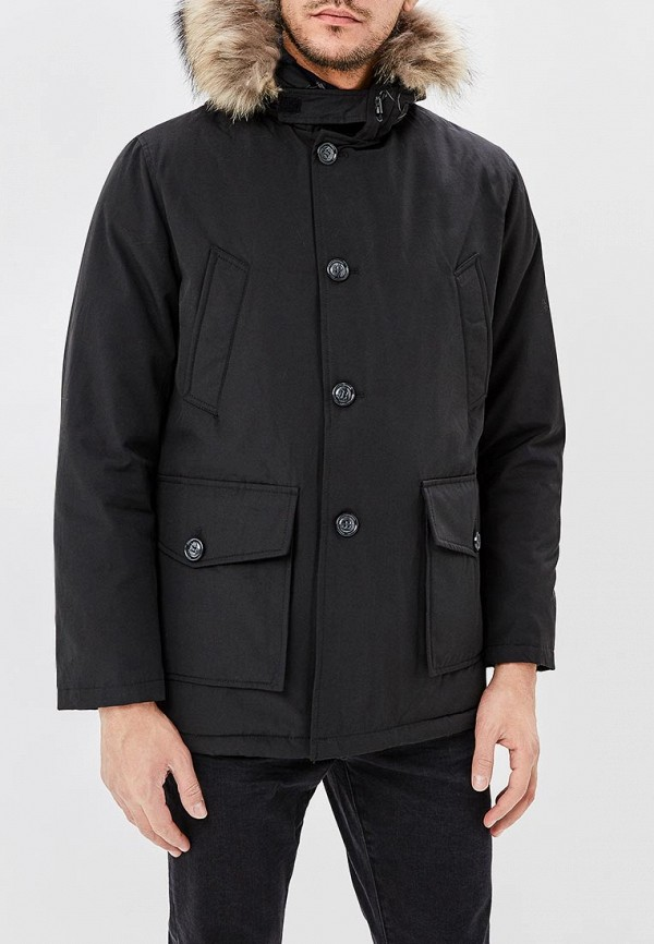 мужская куртка aarhon, черная