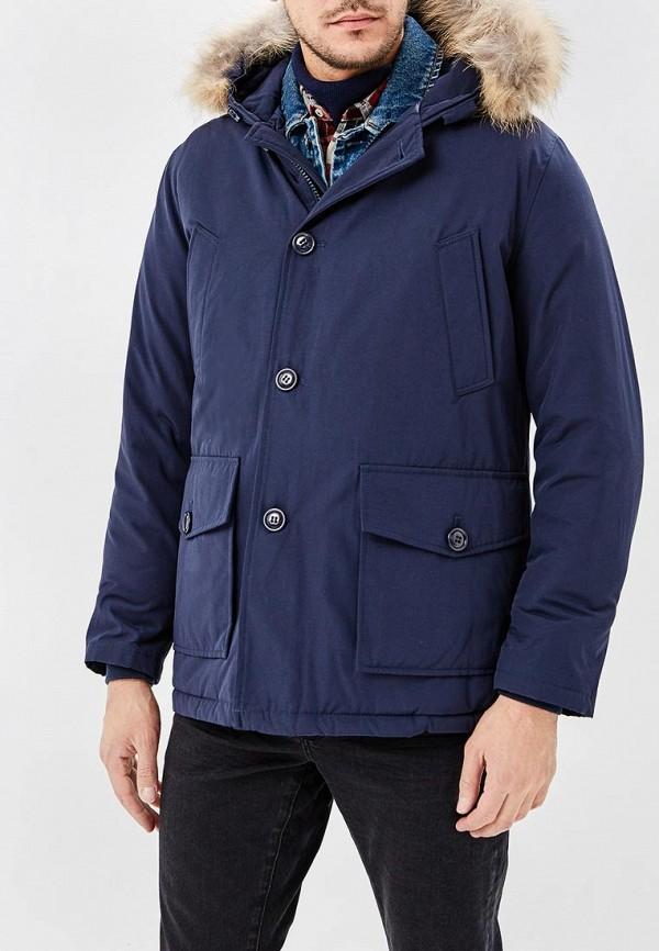 мужская куртка aarhon, синяя