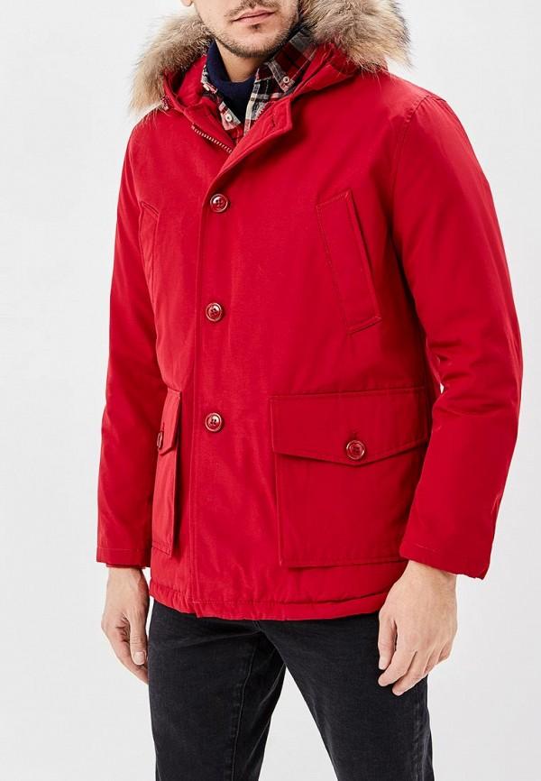 мужская куртка aarhon, красная