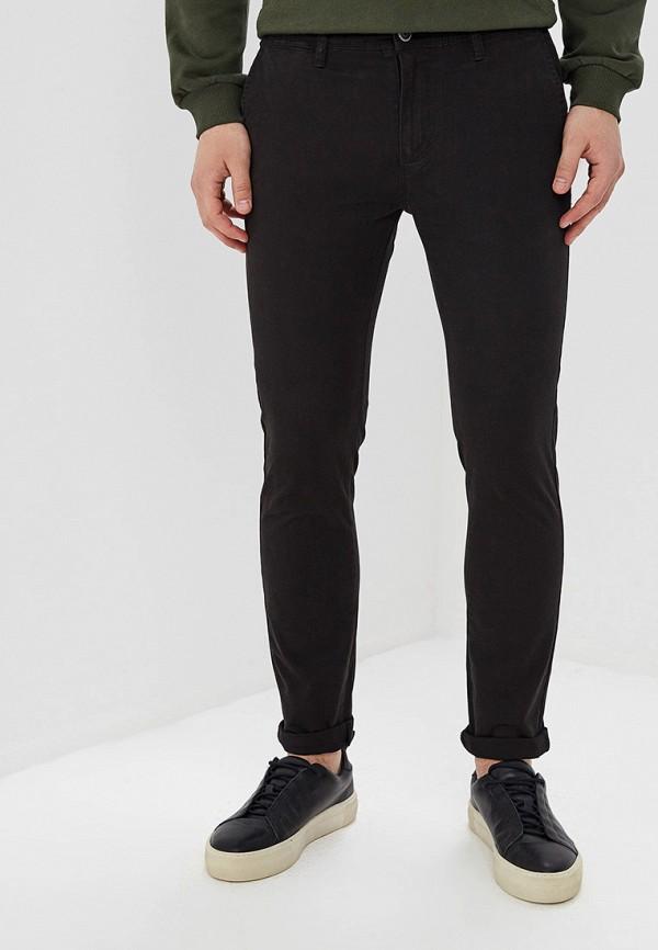 мужские брюки чинос aarhon, черные