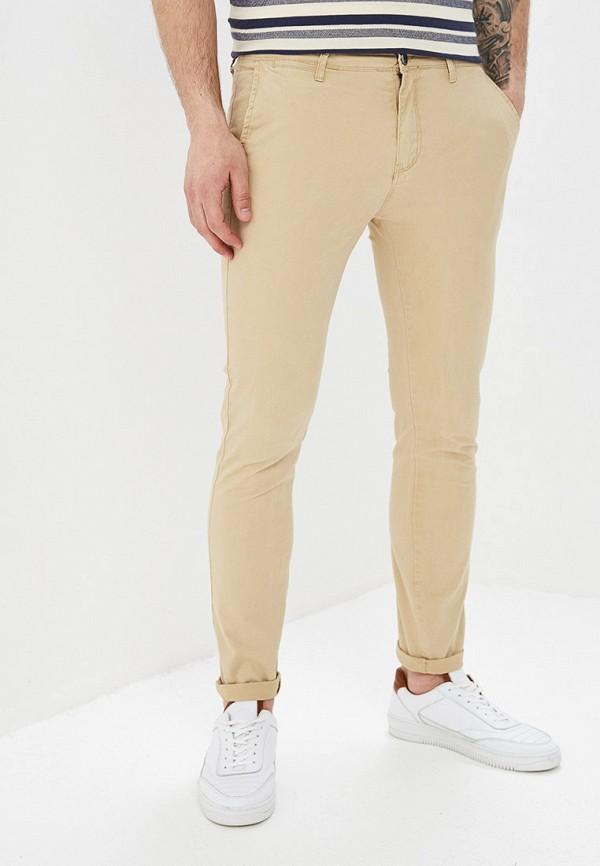 мужские повседневные брюки aarhon, бежевые