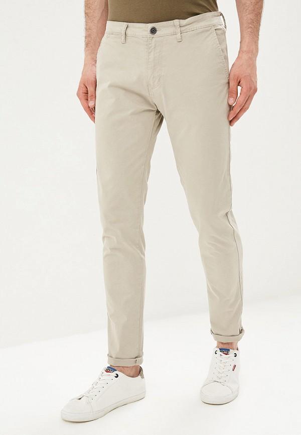 мужские брюки чинос aarhon, серые