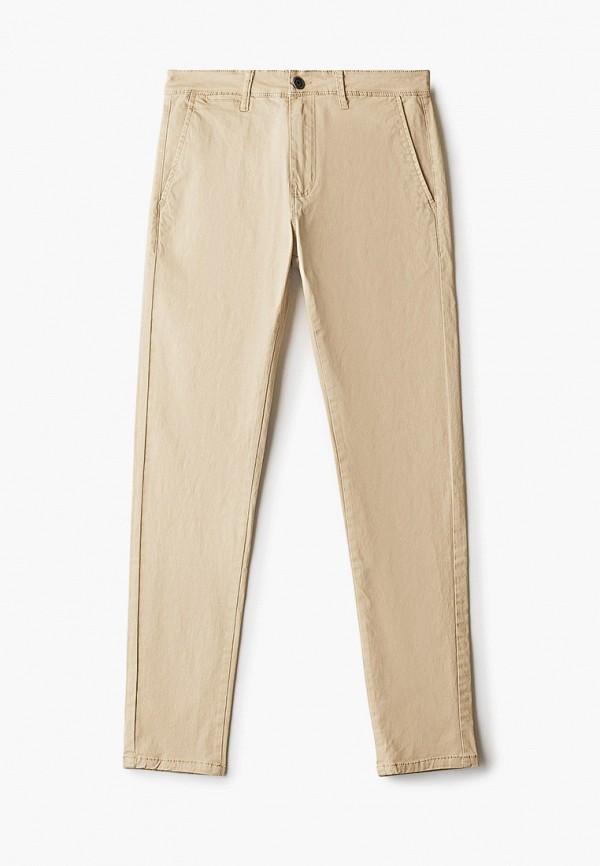 мужские брюки чинос aarhon, бежевые