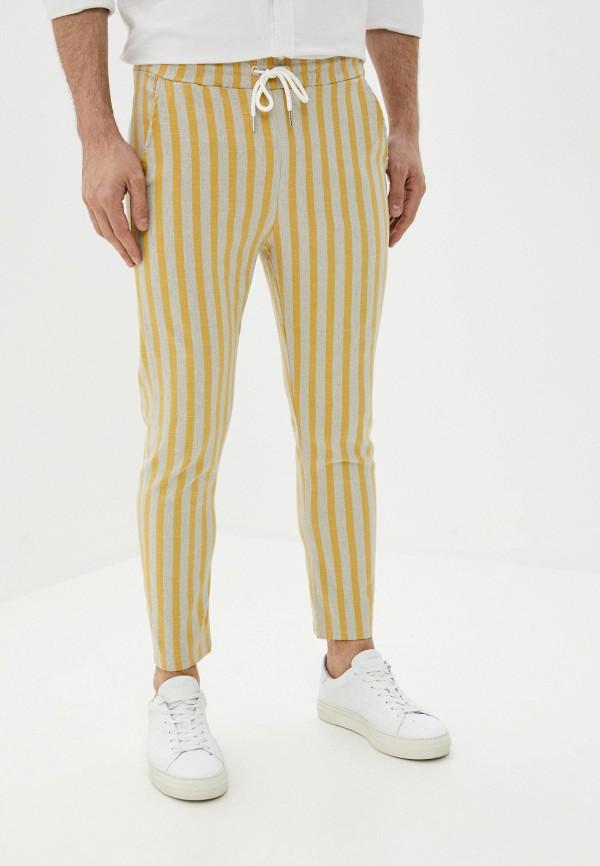 мужские брюки aarhon, желтые