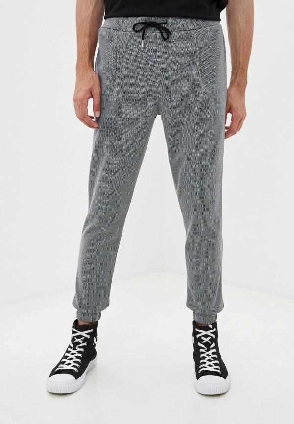 мужские зауженные брюки aarhon, серые