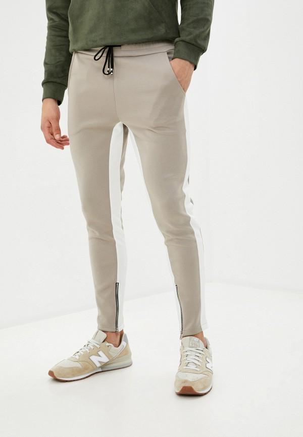 мужские брюки aarhon, бежевые