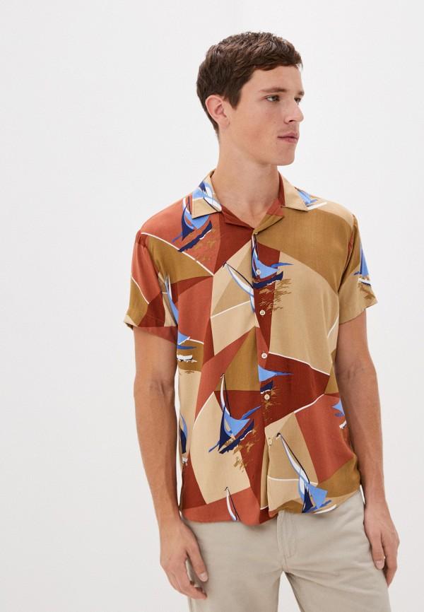 мужская рубашка с длинным рукавом aarhon, разноцветная