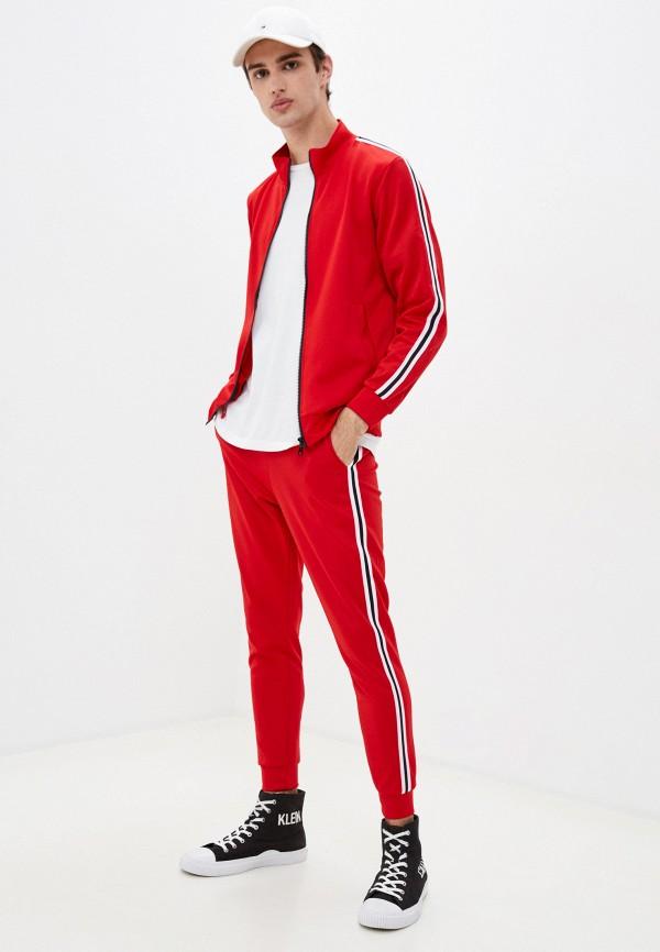 мужской спортивный костюм aarhon, красный
