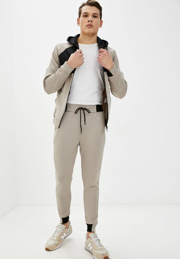 мужской спортивный костюм aarhon, бежевый