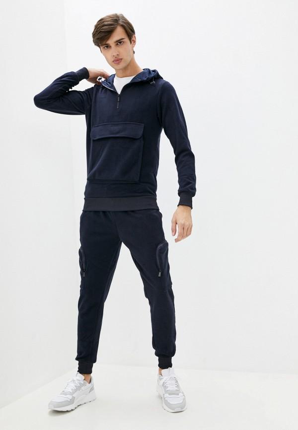 мужской спортивный костюм aarhon, синий