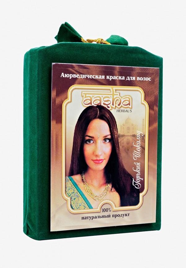 краска для волос aasha herbals, коричневый