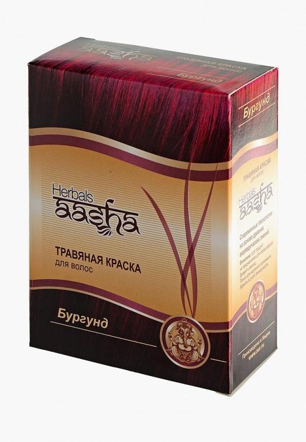 краска для волос aasha herbals, бордовый