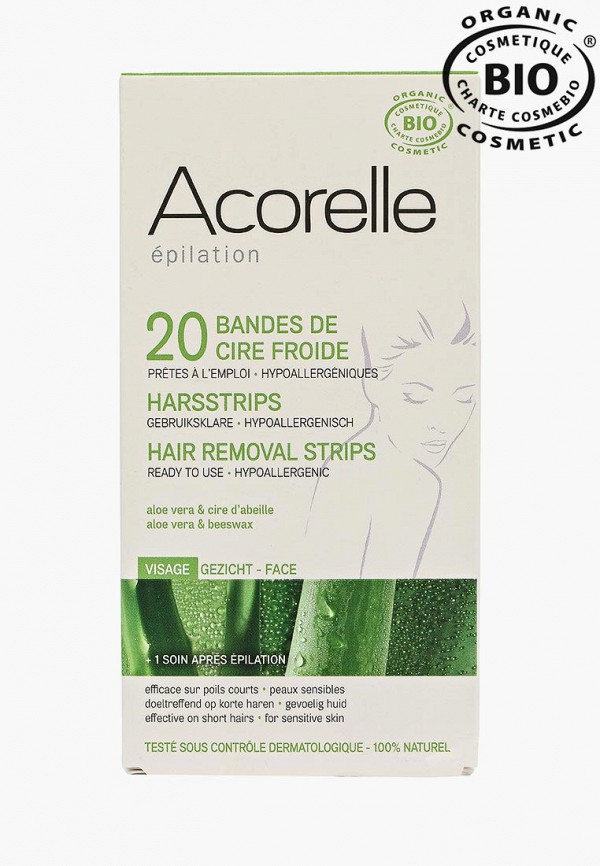 Полоски для депиляции Acorelle Acorelle AC007LWES679 спрей для тела acorelle acorelle ac007lwfll23