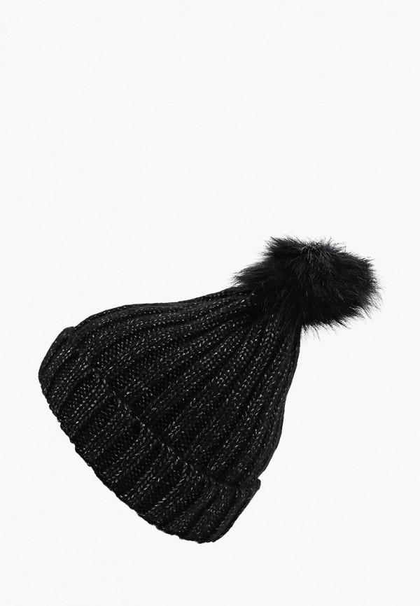 шапка acoola для девочки, черная